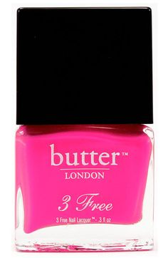 """Love this color """"Snog"""" by butter LONDON. Even better, it's a 3 Free brand, so no formaldehyde, toluene or DBP. They have lots of gorgeous blues, too."""