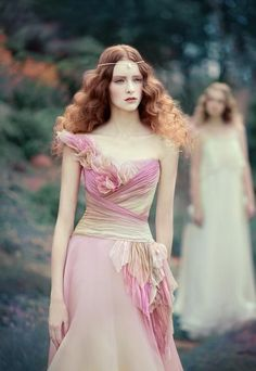 Fantasy is the project featuring models Lera Loginova and Anastasia Sutupova by Moscow, Russia based photographer Andrey Yakovlev & art director Lili Aleeva.