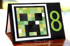Stamp With Callena cards - Minecraft