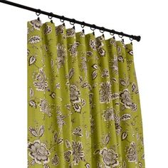 I pinned this Jeanette Curtain Panel in Green from the Country Cottage Curtains event at Joss and Main.  What a fun print!