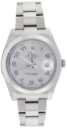 Rolex Datejust II 116300 Oyster Stainless Steel Silver Dial Mens Watch