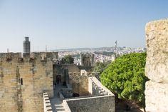 Castelo de São Jorge - Lisboa, Portugal Tudo sobre esse lugar fantástico no blog www.carlanamedida.blogspot.pt