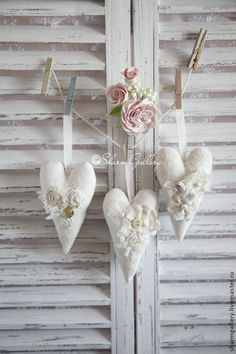 Hearts shabby chic