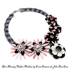 Retro Blooming Necklace | John Bead – The Friendliest Wholesale Bead Supplier for over 60 Years!