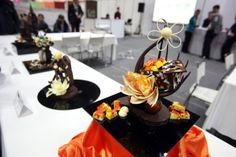 The masterpieces of chocolate art