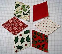 RosMadeMe: Christmas Tutorials Start Here - Chris's Patchwork Decorations