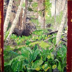 """Saatchi Art Artist Danielle Caron; Painting, """"Sandy Sievert Park II"""" #art"""