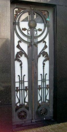 Art Deco Door, Buenos Aires, Argentina by skbryan