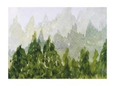 Tree Tops Wall Art Prints by Roopali | Minted