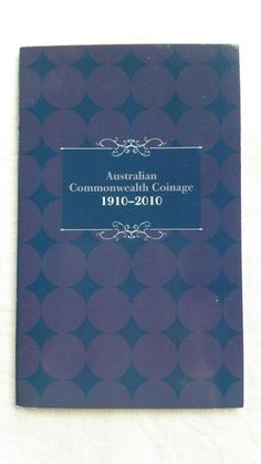Australian Commonwealth Coinage 1910-2010 Post Stamps and Florin Coin Book Rare