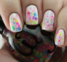 Wicked Polish - Hung over the rainbow. Gorgeous neon glitters!