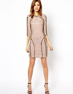 Sequin Body-Conscious Dress
