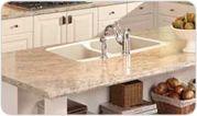 WilsonArt Madura Pearl...pretty nice looking for laminate countertops