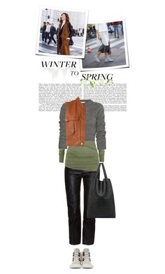 Winter to Spring Layers by cultofsharon on Polyvore featuring polyvore fashion style Carven Isabel Marant Chloé Alexander McQueen Marni Giuseppe Zanotti clothing