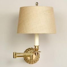 Vaughan Designs - Chedworth Swing Arm Wall Light