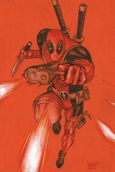 Deadpool Commission by *MicahJGunnell on deviantART