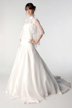 Trendy Wedding, blog idées et inspirations mariage ♥ French Wedding Blog: Essayage chez Delphine Manivet : le verdict