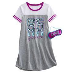 """SO """"95 Love Forever"""" Sleepshirt - Girls 7-16"""