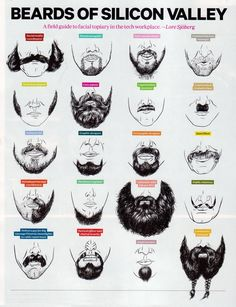 Beards of Silicon Valley >>> hysterical!