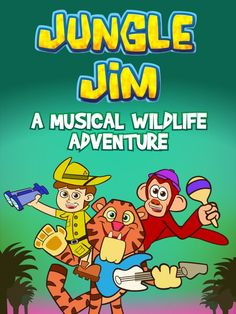 I am always looking for educational shows for my kids!  I love that  Jungle Jim- A Musical Wildlife Adventure teaches my kids about animals in their habitat through live video and music. Jungle Jim wants to be your friend  #ad