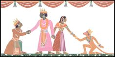 Diwali: The story of Rama and Sita, with beautiful illustrations