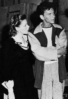 Judy with Frank Sinatra, 1944.