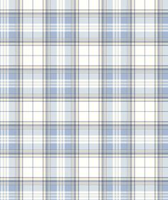 Blue and white plaid prepasted wallpaper Blue Mountain. This vinyl wallpaper is washable with a damp cloth and it is strippable. Papel Vintage, Vintage Paper, Image Digital, Prepasted Wallpaper, Decoupage Paper, Printable Paper, Pattern Wallpaper, Plaid Wallpaper, Plaid Pattern