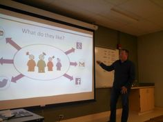 Christopher Short teaching the Getting Started with Social Media Marketing course at SUNY Ulster. Social Media Marketing Courses, Get Started, Digital Marketing, Workshop, Teaching, Atelier, Work Shop Garage, Education, Onderwijs