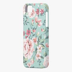 It's cute! This Cottage Floral Pattern iPhone 5 Cases is completely customizable and ready to be personalized or purchased as is. Click and check it out!