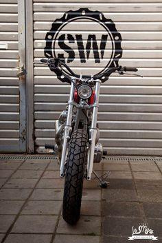 Kawasaki W650 Dirt Racer by Schlachtwerk