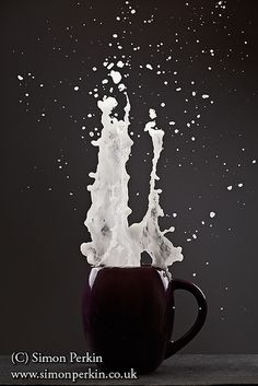 Liquid explosion (first attempt) by Simon Perkin Photography, via Flickr