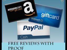 Free Earn Amazon Gift Cards Walmart Paypal Cash Legit 2018 Reviews with proof