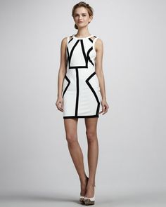 Me & My Baby Geometric Dress by Talulah at Neiman Marcus.