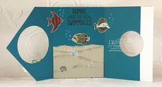 Debbie's Designs: Fancy Flap Card Fold!
