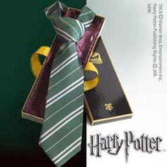 Corbata Harry Potter. Slytherin