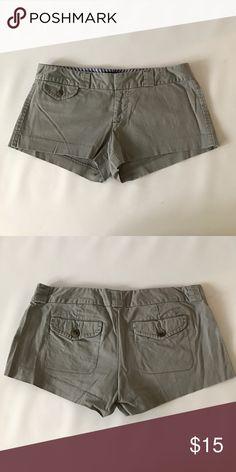 Gray American Eagle shorts EUC Gray American Eagle shorts. Great for summer American Eagle Outfitters Shorts