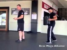 Krav Maga Back Kick - Alliance Training Center in Los Angeles - YouTube