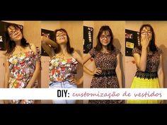 DIY/ customização - transformando vestidos em outras peças - YouTube