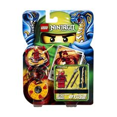 Spin your way to victory with Kai ZX! Bring firepower into your Spinjitzu battles and scorch the enemies of Ninjago like never before! Use the 4 battle cards included to influence the outcome.