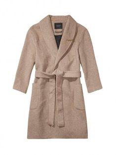 Vêtement Femme Maison Scotch - Manteau beige pas cher