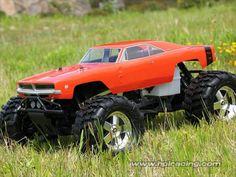 HPI 1969 Dodge Charger Body 7184