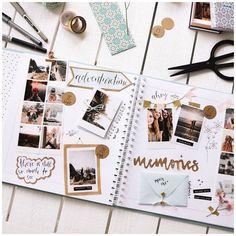 Bullet Journal Books, Bullet Journal Ideas Pages, Bullet Journal Inspiration, Scrapbook Journal, Travel Scrapbook, Scrapbook Pages, Diy Scrapbook, Scrapbook Layouts, Scrapbook Photos