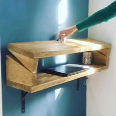 Cool Woodworking Projects, Diy Wood Projects, Diy Woodworking, Folding Furniture, Cool Furniture, Furniture Design, Cool Paper Crafts, Wood Crafts, Dressing Room Design