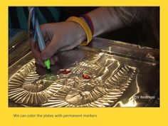 Ethnic Art Project for Kids: South American Gold Jewelry