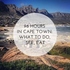 How to make the most of a short visit to Cape Town, South Africa -- swimming with sea lions, wine tasting, responsible township tour, jazz and more. http://uncorneredmarket.com/cape-town-travel-beginners-guide/