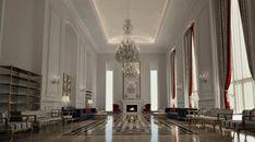 Hall spacieux de luxe
