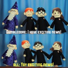 Harry Potter Puppets, Potter Puppet Pals, Harry Potter Hermione, Harry Potter Memes, Hufflepuff Pride, Ravenclaw, Very Potter Musical, Beatles Art, Mischief Managed