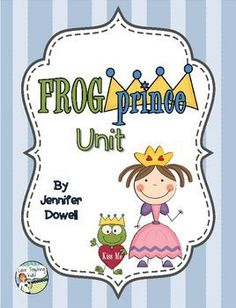 "If you enjoy reading fractured fairy tales then this is the unit for you. This unit includes activities to do with the fairy tale ""The Frog Prince"" and ""The Frog Prince Continued"" by Jon Scieszka. Features:Story Map- after reading a version of ""The Frog Prince"" have the students fill out the story map."