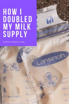 how I doubled my breast milk supply #breastfeeding #pumping