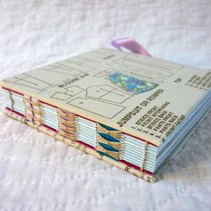 Dolly's dress pattern hand-bound notebook